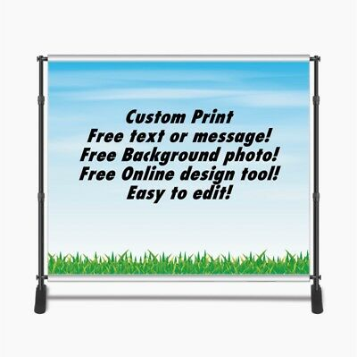 Custom Print 8x8ft for Step & Repeat Stand, Backdrop, PHOTOGRAPHY QUALITY #12