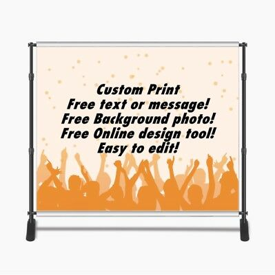 Custom Print 8x8ft for Step & Repeat Stand, Backdrop, PHOTOGRAPHY QUALITY #15