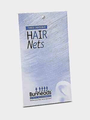 Capezio Bunheads Invisible Hair Nets, NEW