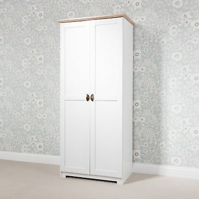 Laura James 2 Door Wardrobe White