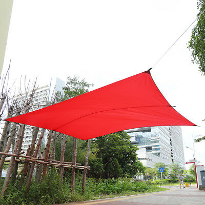 Portable Sun Shade Sail Garden Patio Awning Canopy Uv Block