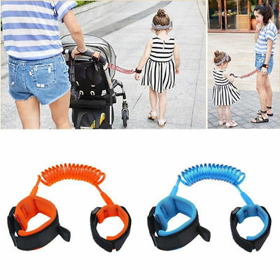 Kids Child Anti-Lost Band Safety Harness Strap Wrist Leash Walking Traction Rope