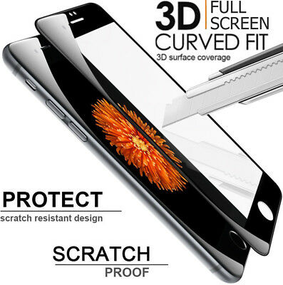 3D CURVED EDGE Full Screen Coverage Ultra Clear Tempered GLASS Screen Protector