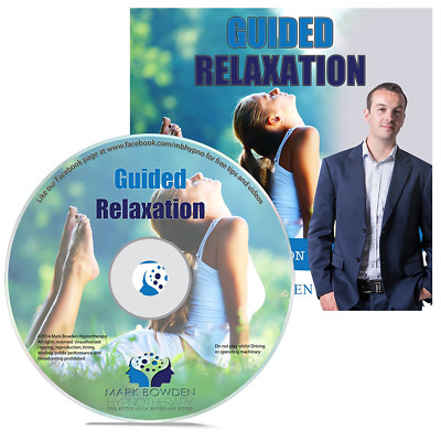 Guided Relaxation Hypnosis / Hypnotherapy CD - Alleviate Tension and Stress Reli