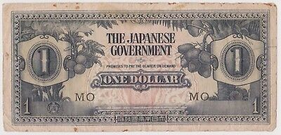 (N10-27) 1940s Japan $1 invasion bank note (AB)