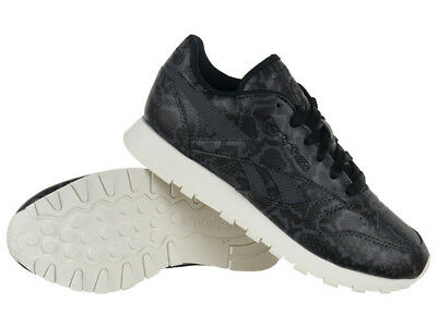 Reebok Classic Leather Snake Women s Sneakers Sports Trainers Non Marking  Shoes 5f84f7036