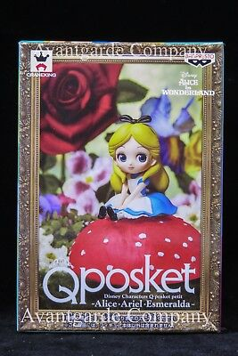 DISNEY Q POSKET PETIT VOL. 5 ALICE 100% REAL 2.75 inches tall