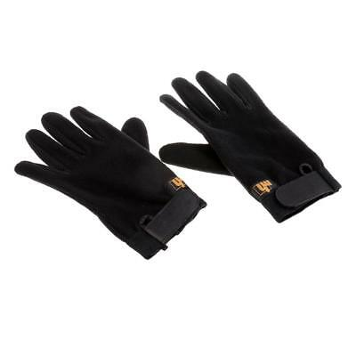 Black Antiskid Equestrian Gloves Horse Riding Gloves Wear Resistance - Kids