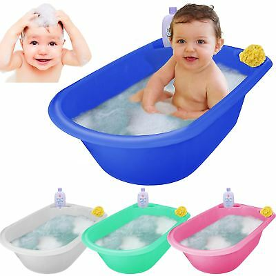 X large baby bath tub plastic washing time big toddler basket baby bath