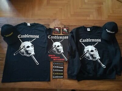 Candlemass - Lot Sweatshirt T-Shirt Cup Backpatch Patch Coaster -Limited Edition