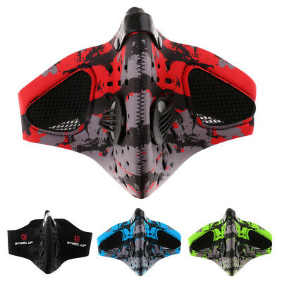 Anti-Pollution Anti-Dust Anti-virus Cycling Riding Running Face Mask with Filter