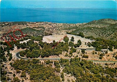 Picture Postcard, Aegina, Airview Of The Temple Of Aphea
