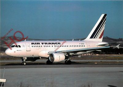 Picture Postcard, AIR FRANCE AIRBUS A318-111 F-GUGE [AVP]