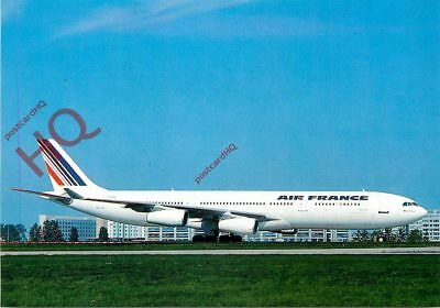 Picture Postcard~ AIR FRANCE AIRBUS A340-311 F-GLZB [EPI]