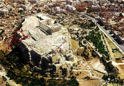 Picture Postcard:;Athens, The Acropolis As Seen By Air