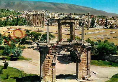Picture Postcard- Athens, Adrian's Gate And Olympieion