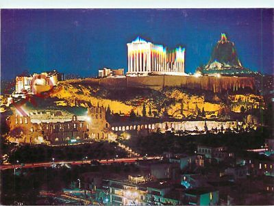 Picture Postcard: Athens, Acropolis By Night