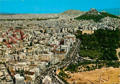 Picture Postcard- Athens, Air View Of The City