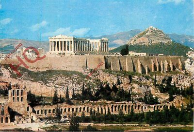 Picture Postcard; Athens, View Of The Acropolis