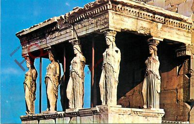 Picture Postcard~ Athens, The Caryatids