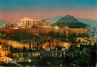 Picture Postcard~ Athens, Acropolis At Night