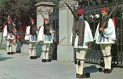 Picture Postcard-:Athens, Evzones (Presidential Guard)