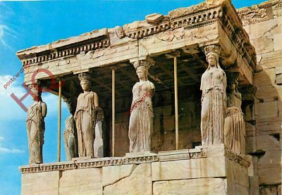 Picture Postcard; Athens, The Caryatids