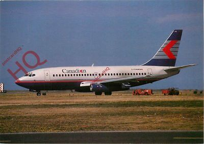 Picture Postcard: CANADIAN BOEING 737-275 C-FPWW [WAP]