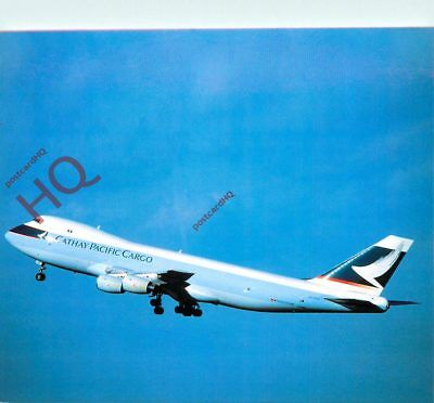 Picture Postcard, CATHAY PACIFIC CARGO BOEING 747-267F VR-HNZ [POS]