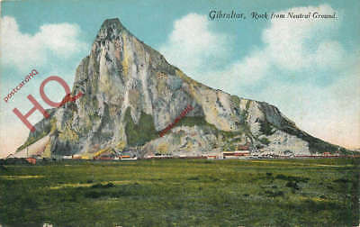 Picture Postcard~ Gibraltar, Rock From Neutral Ground