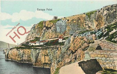 Picture Postcard:;Gibraltar, Europa Point