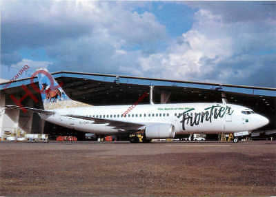 Picture Postcard; FRONTIER AIRLINES BOEING 737-317 EI-CHH [W.C]