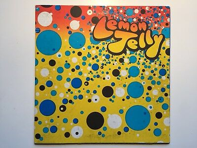 """LEMON JELLY THE BATH EP 10"""" HAND PRINTED and SIGNED Ltd 200 Vinyl Fred Deakin"""