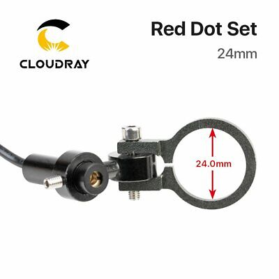 Diode Module Red Dot Set Positioning DC 5V 24mm for Laser Engraving Cutting Head