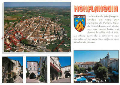 Picture Postcard: Monflanquin (Multiview)