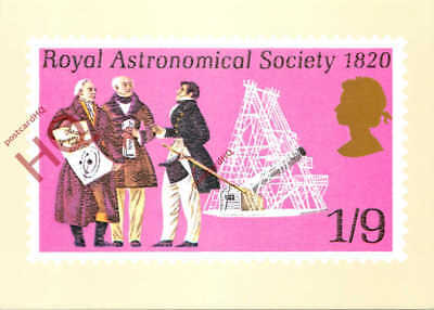 Picture Postcard: National Postal Museum, Royal Astronomical Society 1820 1/9
