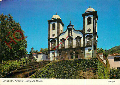 Picture Postcard-:Madeira, Funchal, Igreja do Monte, Monte Church