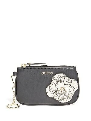 GUESS Factory Girl's Floral Card Case