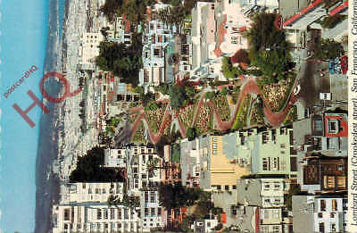 Picture Postcard- San Francisco, Lombard Street, Crooked Street
