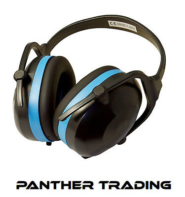 Silverline Compact Folding Ear Defenders SNR 30dB High Protection Level - 633816