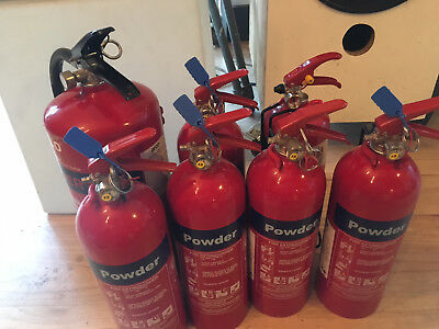 Job lot POWDER Fire Extinguishers