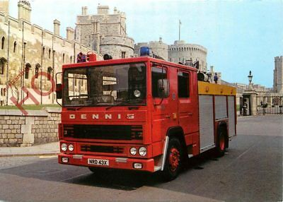 Picture Postcard- DENNIS 'RS' FIRE APPLIANCE