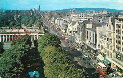Picture Postcard--Edinburgh, Princes Street From The Scott Monument