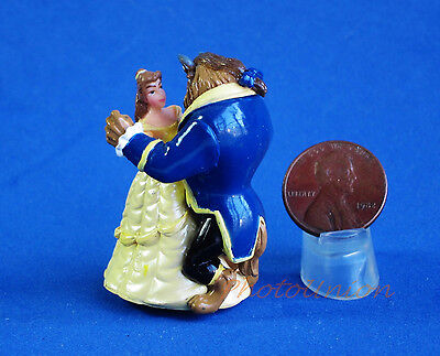 Disney Movie Toy Figure Statue Display Cartoon Model Beauty And The Beast D16