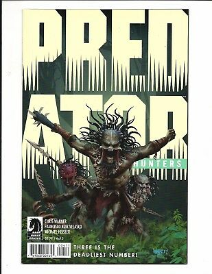 PREDATOR: HUNTERS # 4 (of 5) AUG 2017, NM NEW