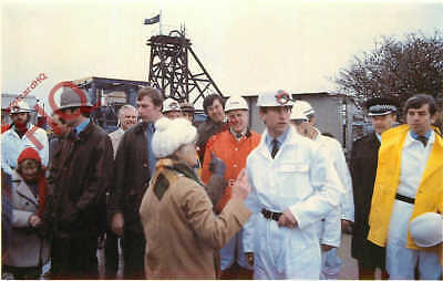 Picture Postcard~ PRINCE CHARLES, AT CONCORD TIN MINE [SOVEREIGN SERIES]