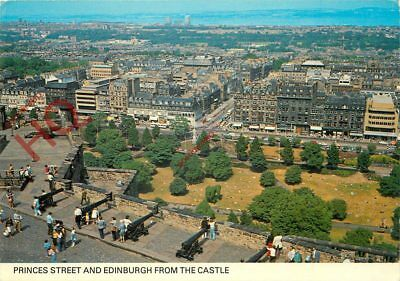 Picture Postcard:-Princes Street And Edinburgh From The Castle