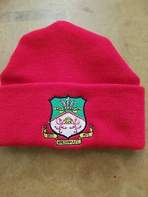 Wrexham wooly HAT Beanie hat The Dragons