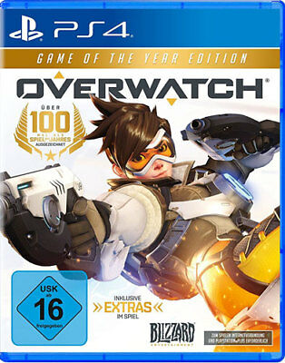 PS4 GAME OVERWATCH ORIGINS Game of the Year Edition GOTY NEW