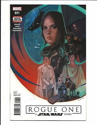 ROGUE ONE: A STAR WARS STORY # 1 (Marvel Comics, JUNE 2017) NM NEW